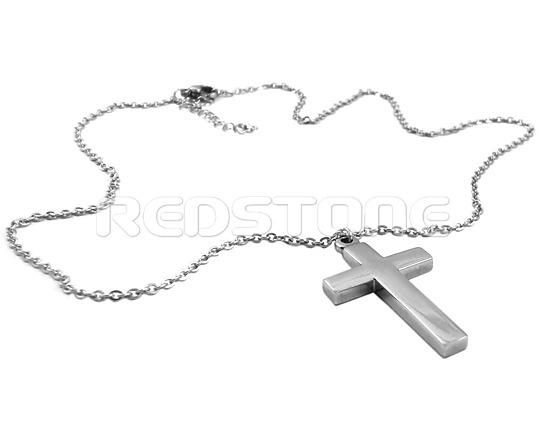 Oceľová retiazka s krížikom SP39588 - Retiazky z chirurgickej ocele ... b0d34582d7a